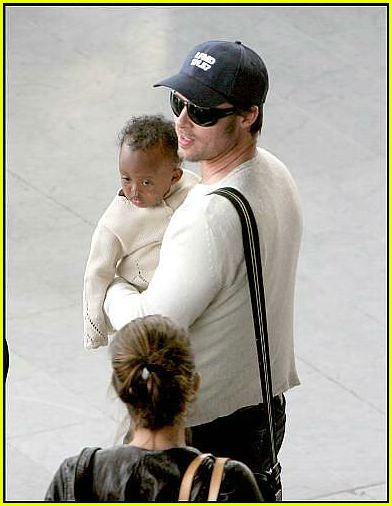 brad angelina airport44