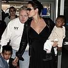 brad angelina airport81
