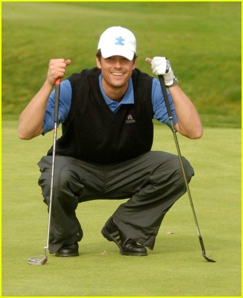 Josh Duhamel Golfing Josh Duhamel