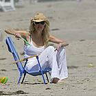 heather locklear david spade beach03