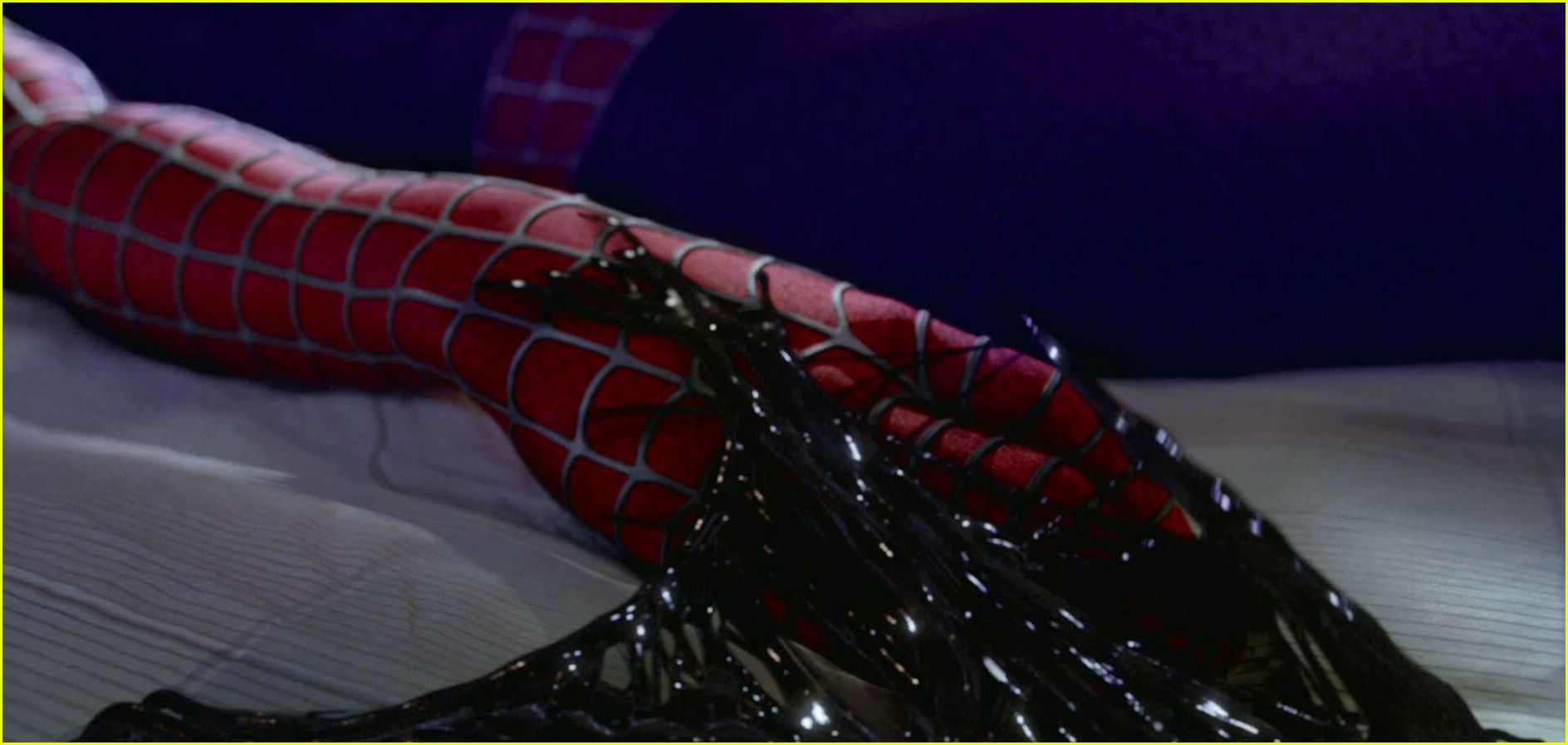 full sized photo of spider man 3 trailer screencaps06. Black Bedroom Furniture Sets. Home Design Ideas