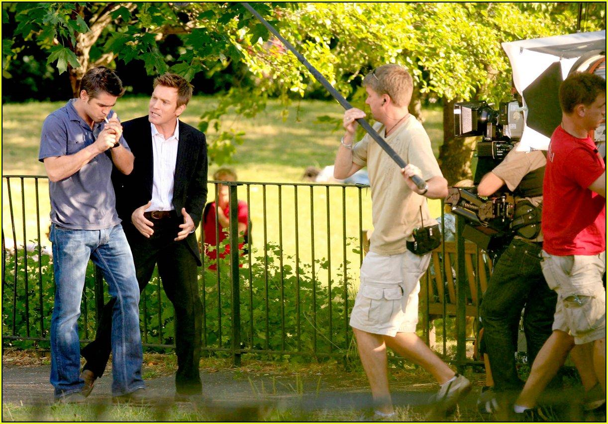 Colin Farrell & Ew...