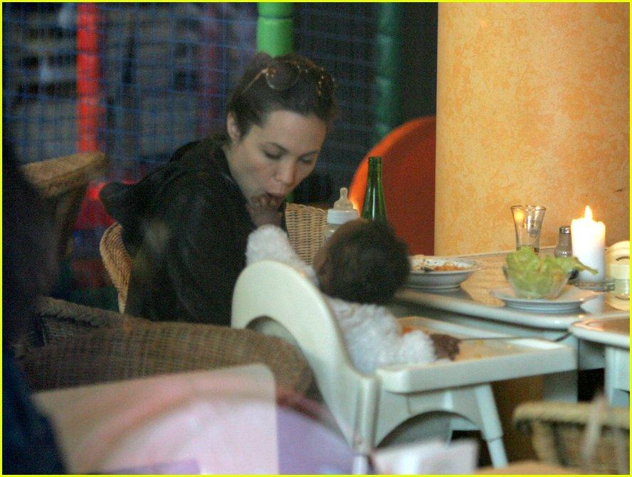 Full Sized Photo of an... Angelina Jolie Kids