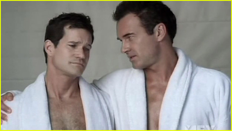 Julian Mcmahon Gay Kiss 97