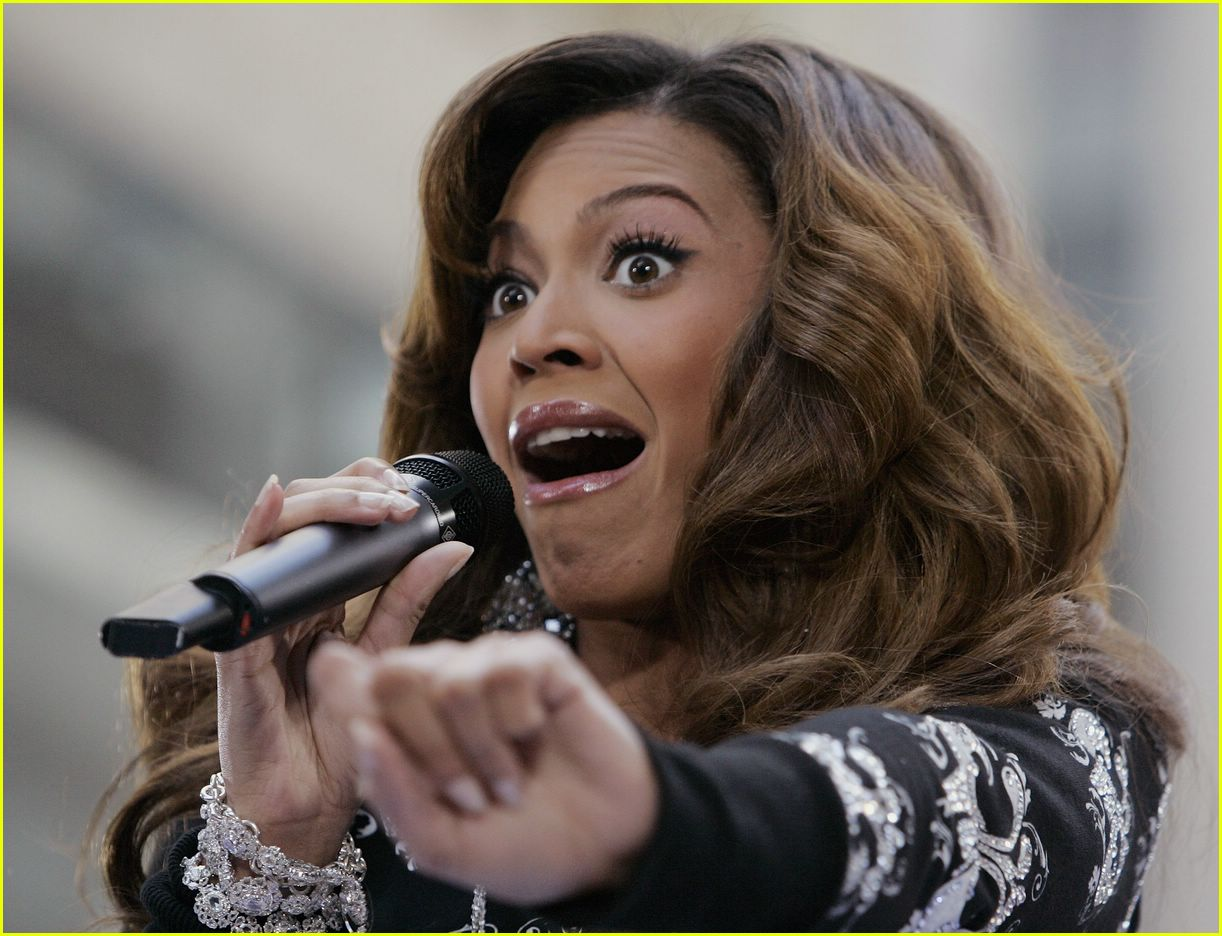 beyonce funny face 12