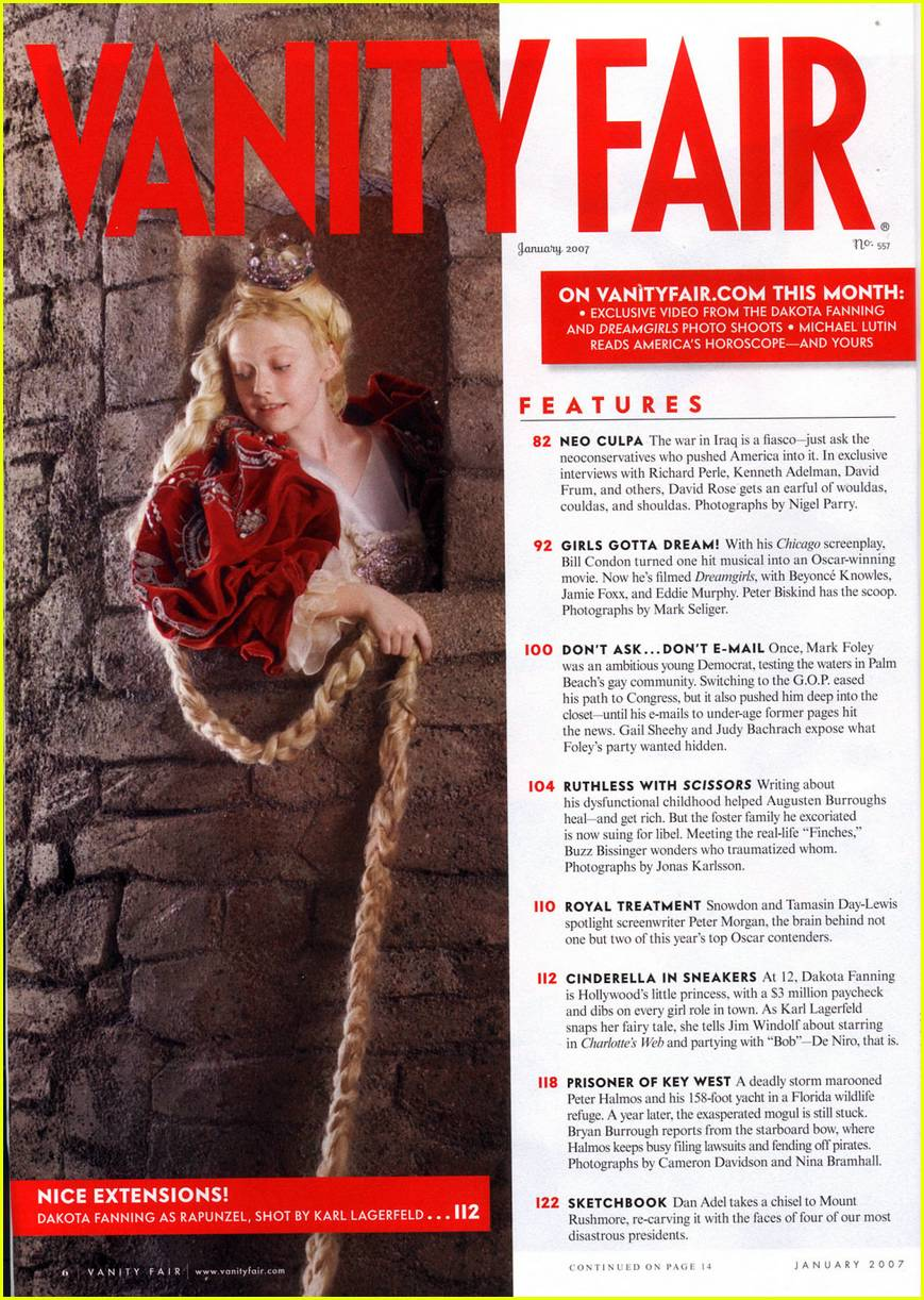 dakota fanning vanity fair 08