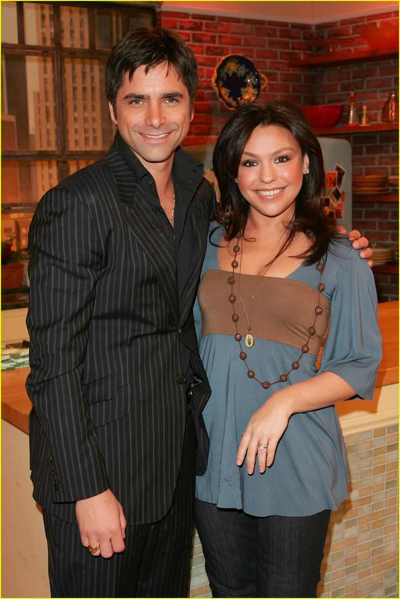john stamos rachael ray 03