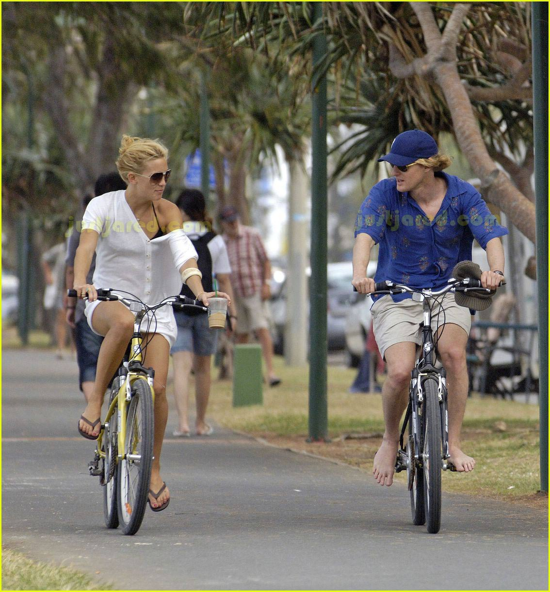 kate hudson owen wilson bike ride 05