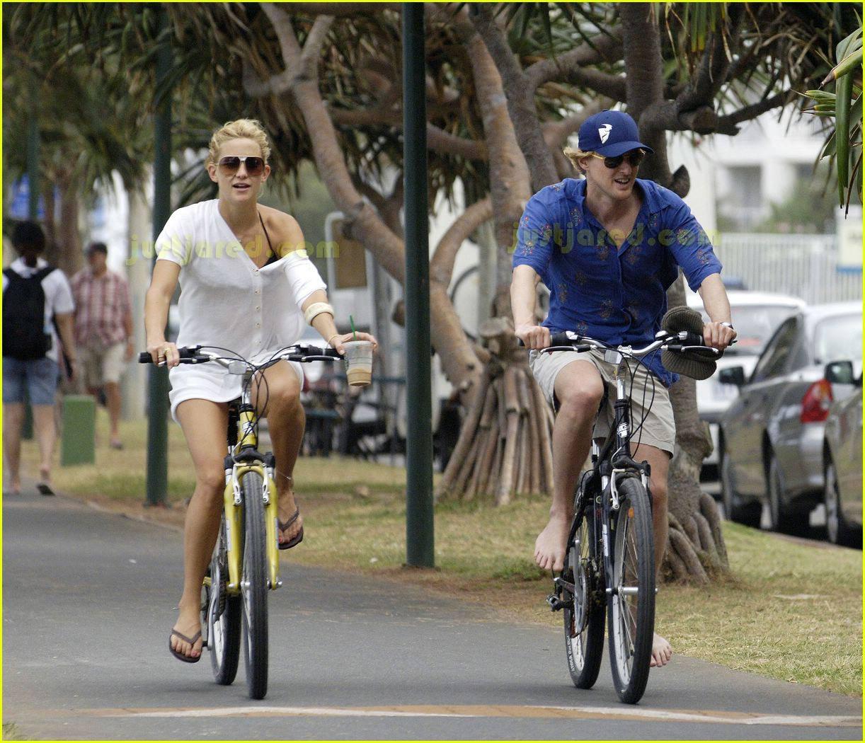 kate hudson owen wilson bike ride 06