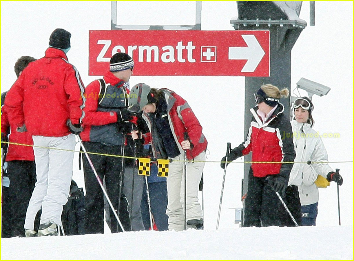 prince william kate middleton skiing 21