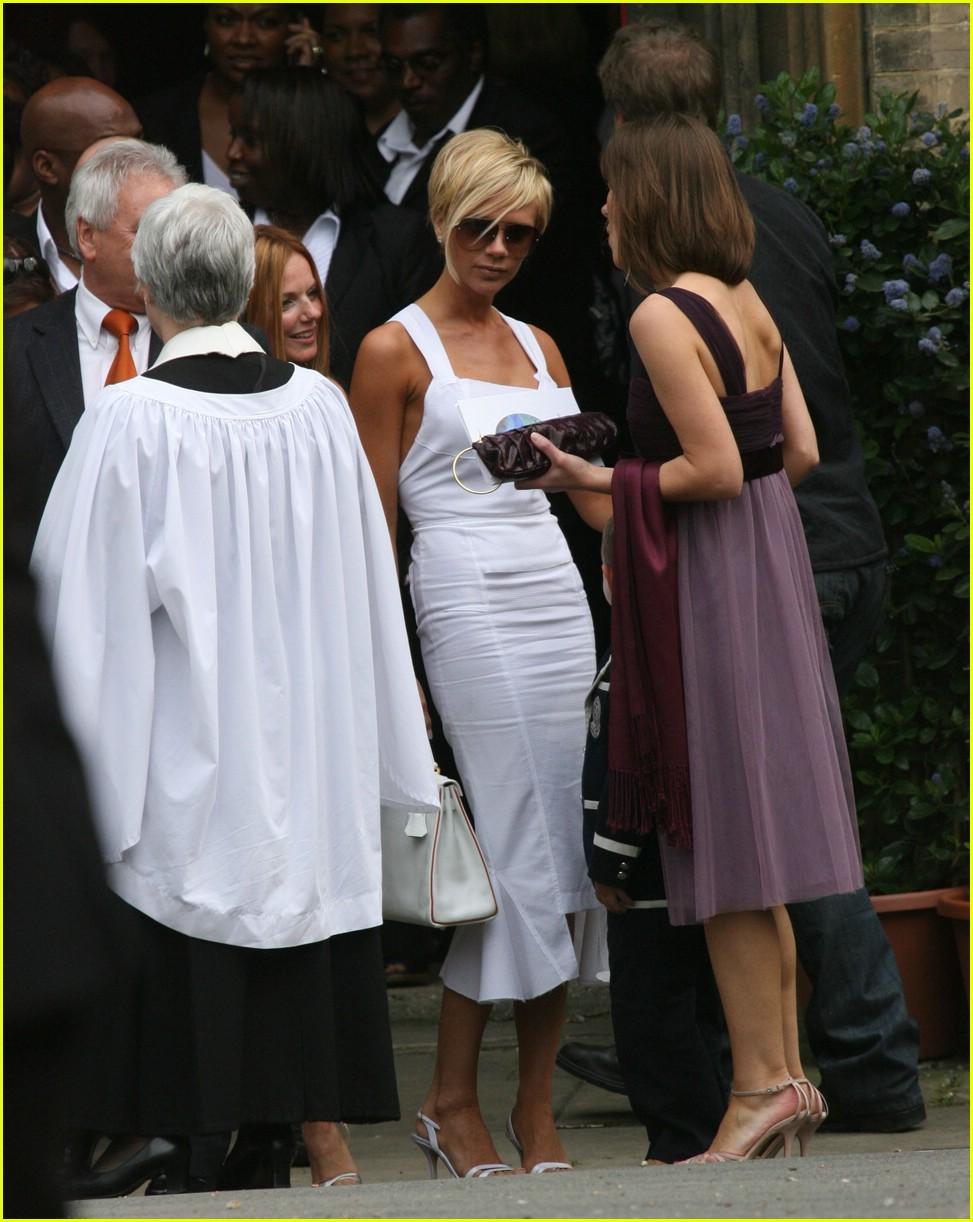 victoria beckham geri halliwell bluebell christening 20122941