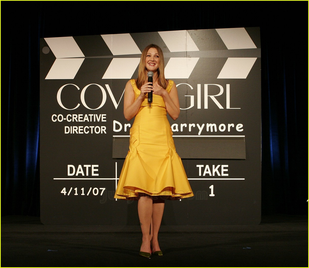 drew barrymore covergirl 13