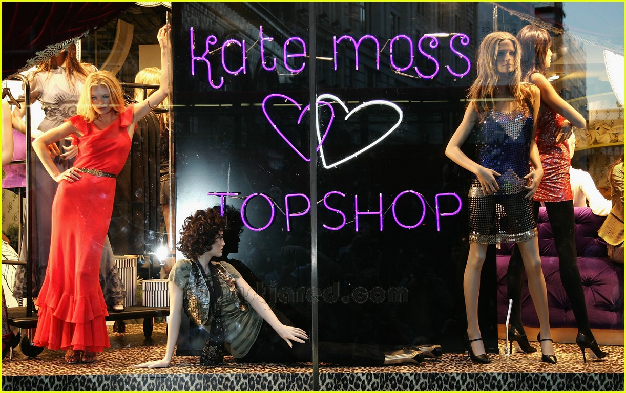 kate moss top shop collection 09