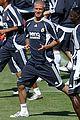 david beckham soccer training 06