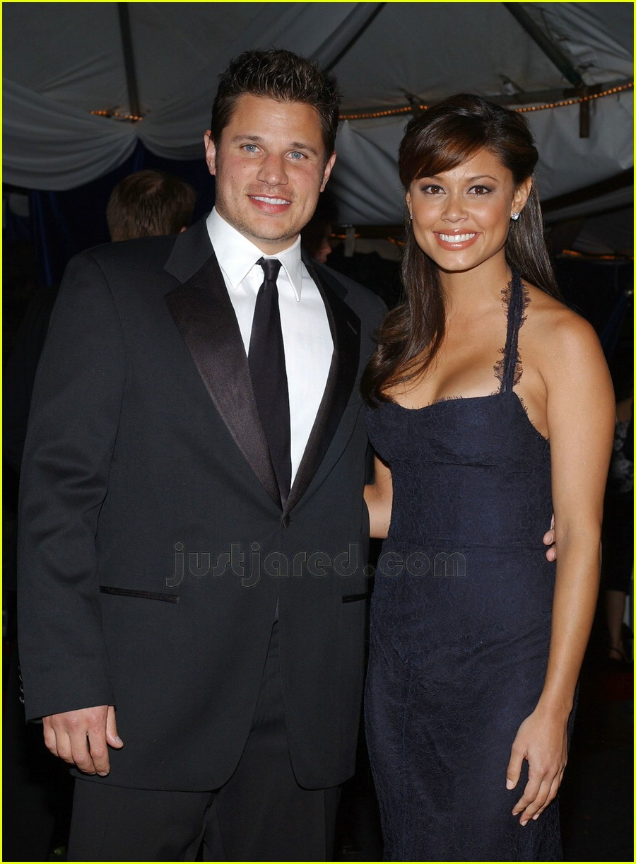nick lachey vanessa minnillo kentucky derby 01