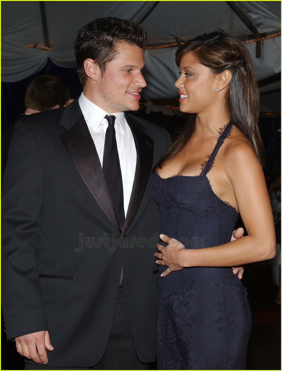 nick lachey vanessa minnillo kentucky derby 03