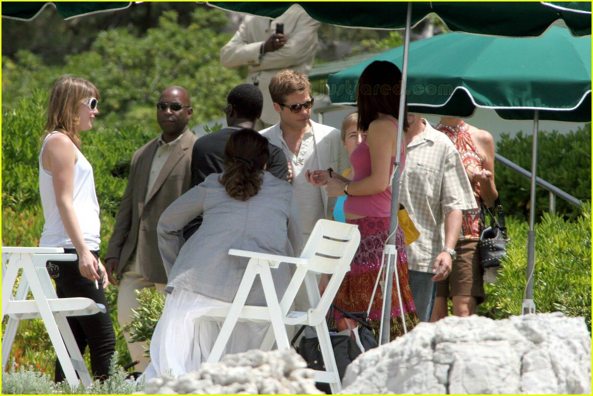 Ocean's 13 Cast @ Cannes : Photo 184101 | Brad Pitt, Don Cheadle ...