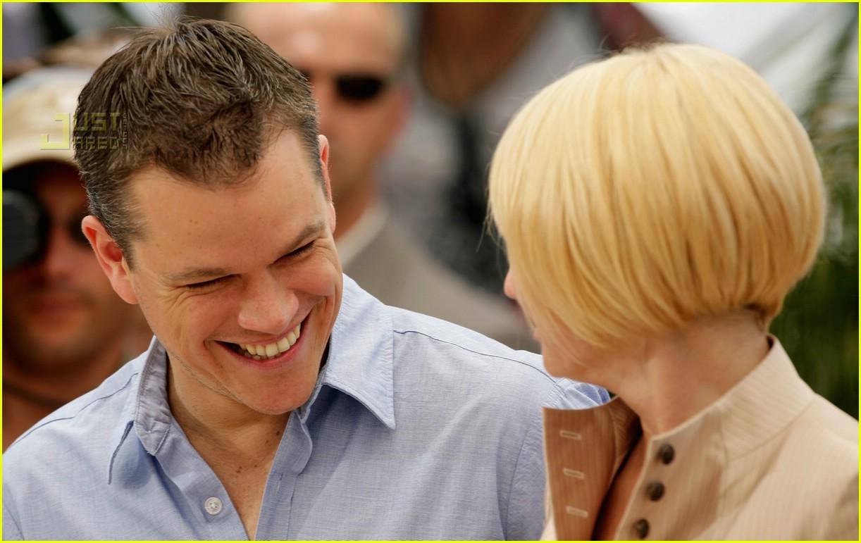 Full Sized Photo Of Matt Damon Ellen Barkin Cannes 04 Photo 188631