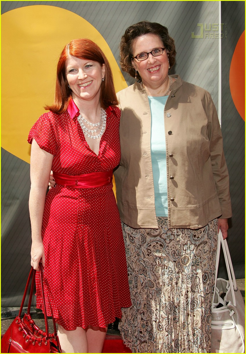 kate flannery nbc upfronts 2007 02