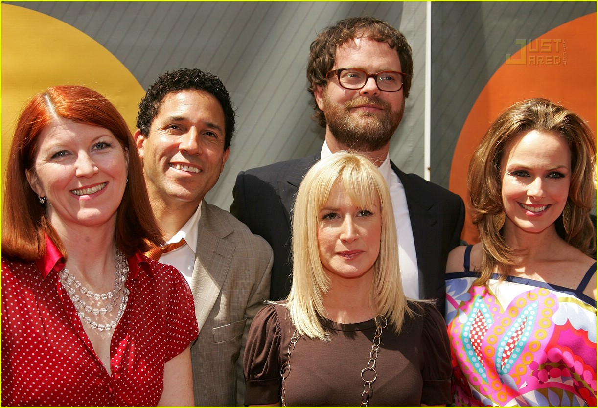 the office cast nbc upfronts 2007 03