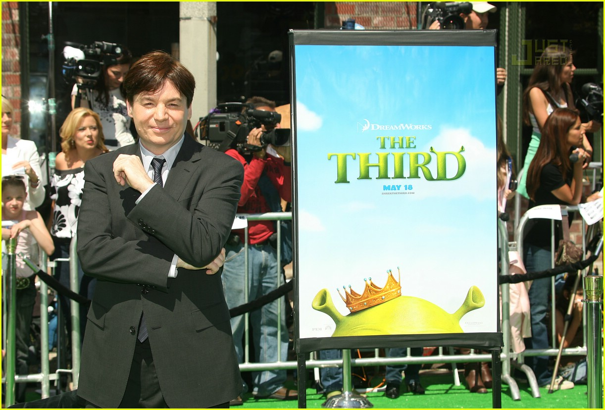 mike meyers shrek 3 premiere 02