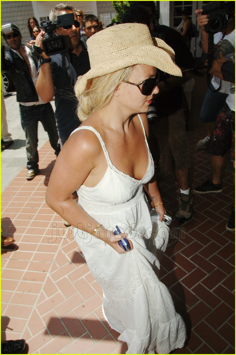 britney spears falling dress strap 11