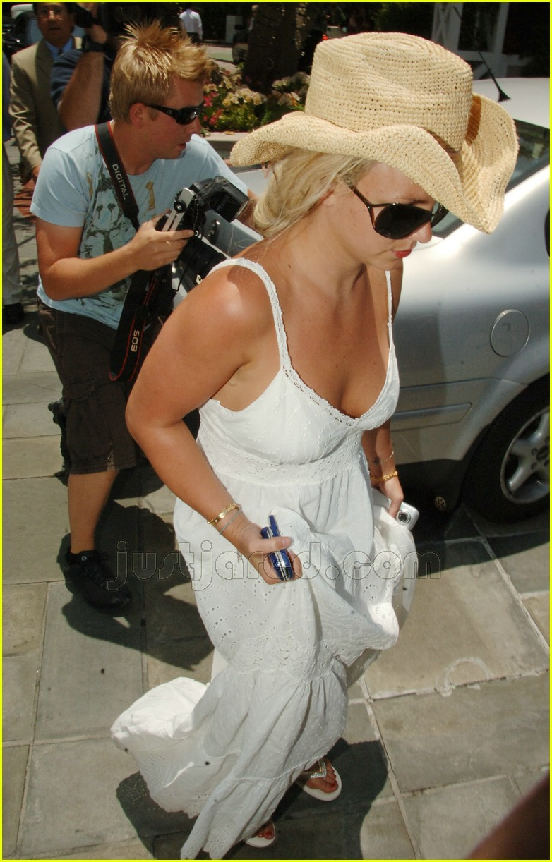 britney spears falling dress strap 18