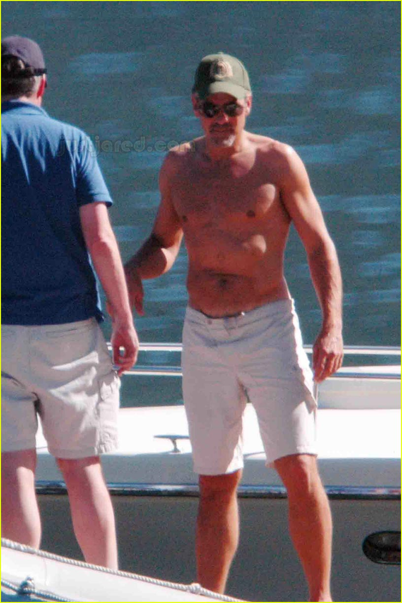 george clooney shirtless 05