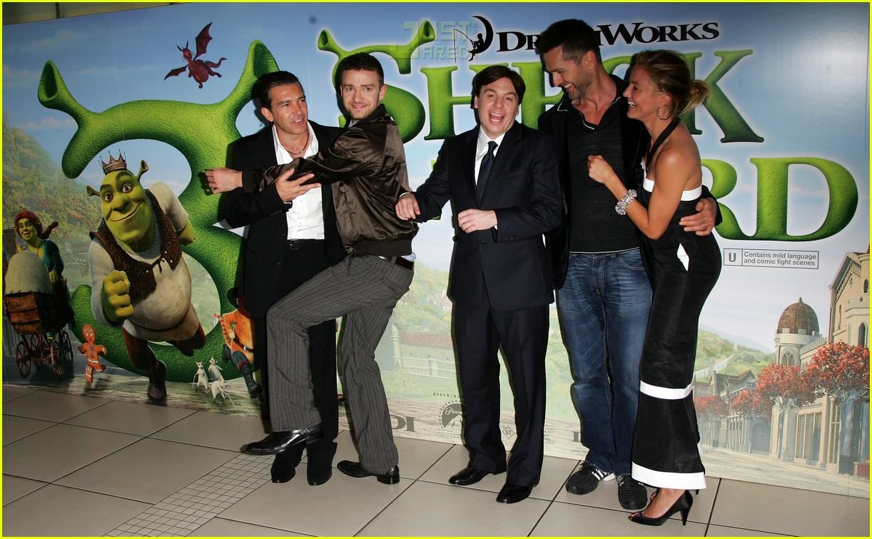 justin cameron shrek premiere 15