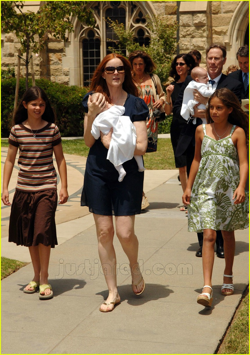 marcia cross twins baptism 06