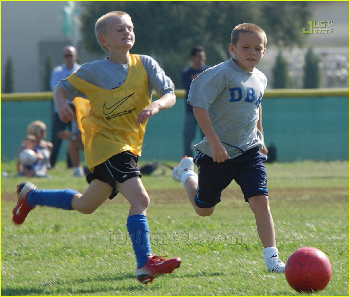 beckham boys soccer practice 09