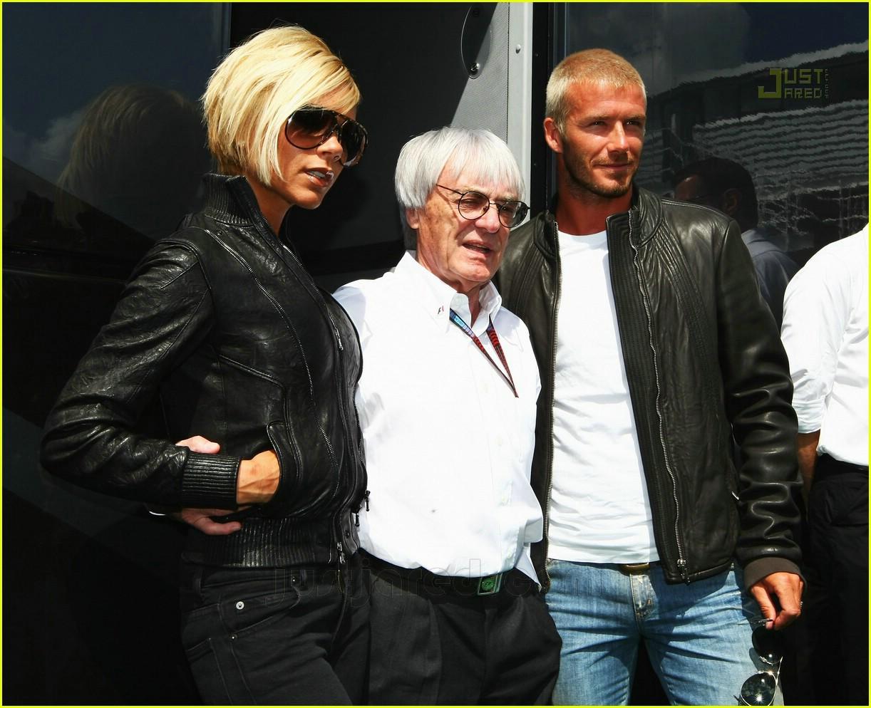 Beckhams @ British Grand Prix: Photo 480131   David Beckham, Victoria Beckham Pictures   Just Jared