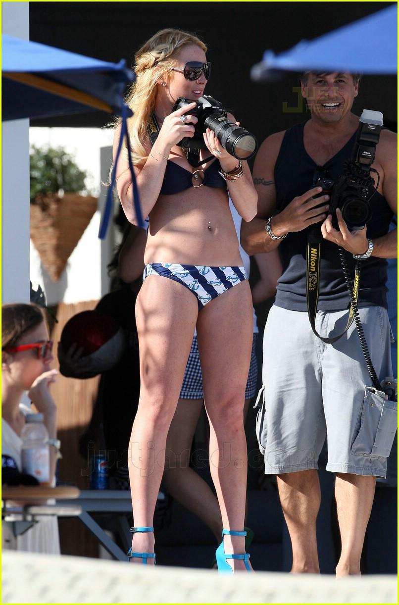Dina lohan bikini