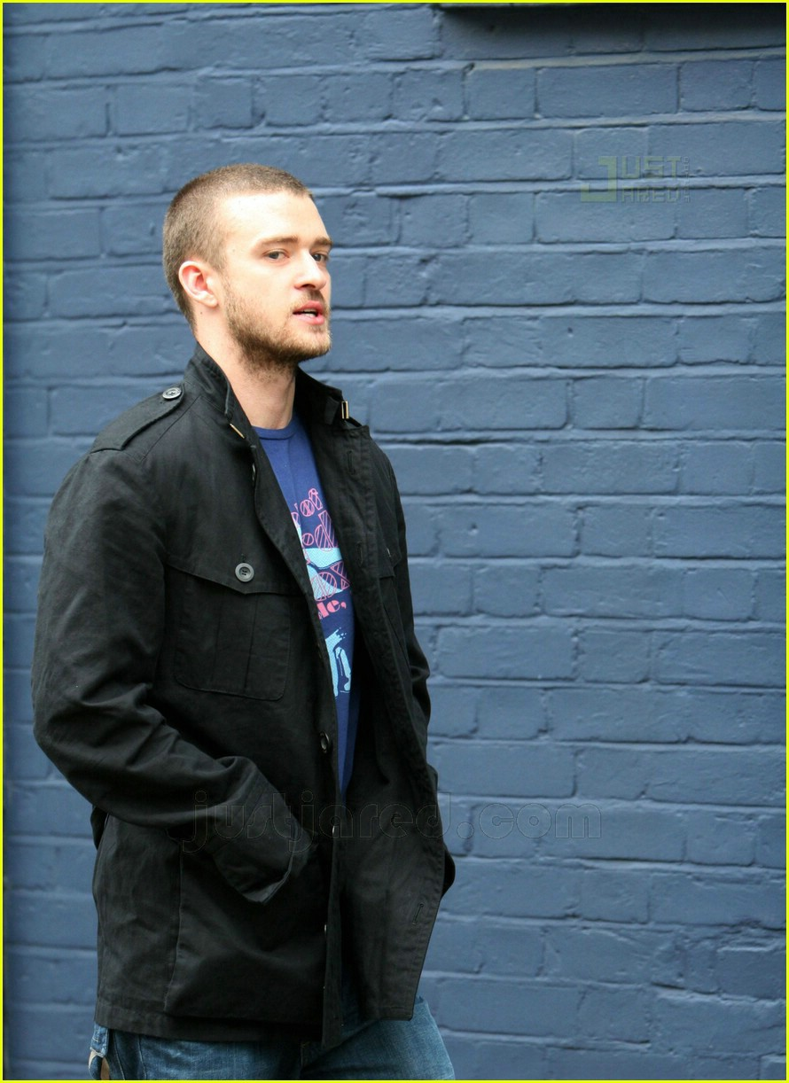 justin timberlake london recording studio 02474091