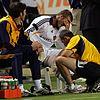 david beckham injured knee 13