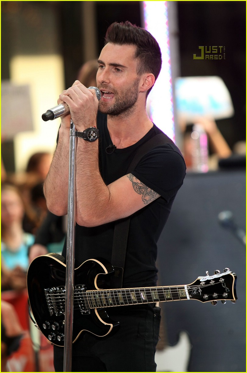adam levine the today show 10