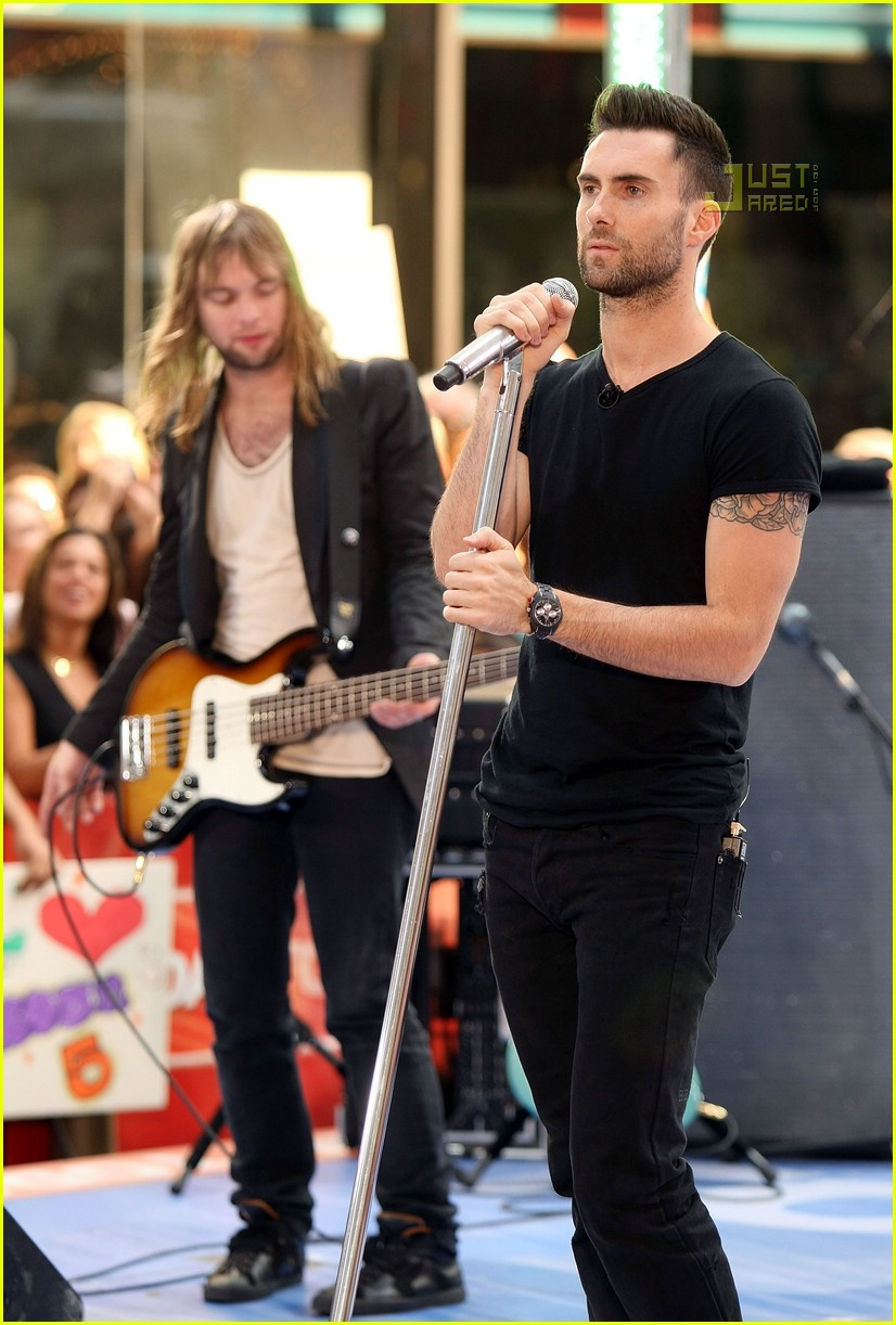 adam levine the today show 13