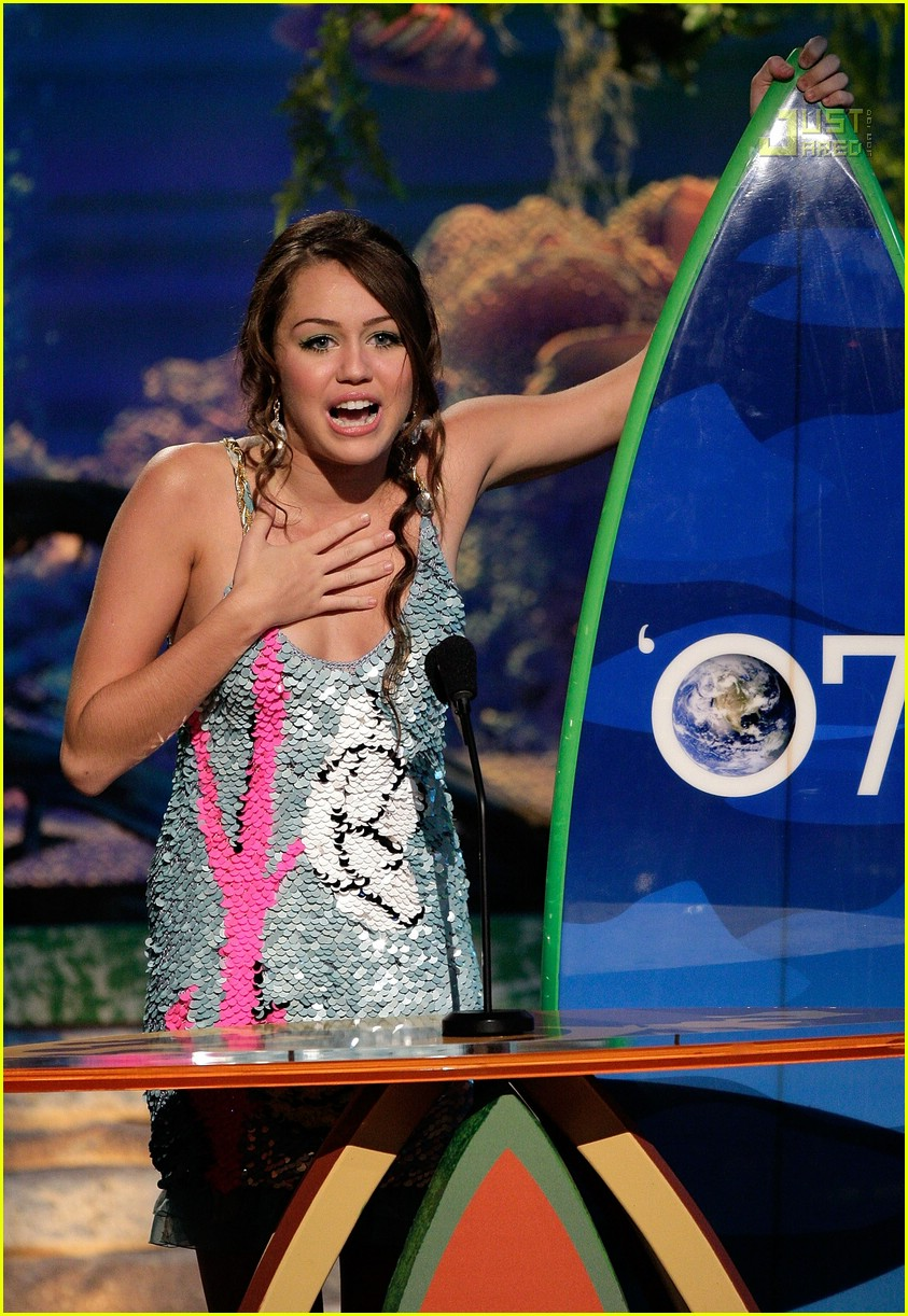 miley cyrus teen choice awards 07