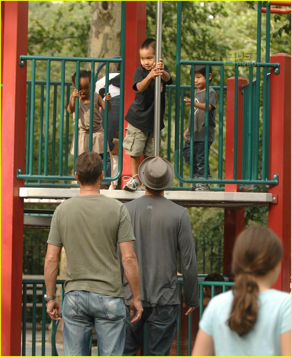 brad pitt kids playground 10