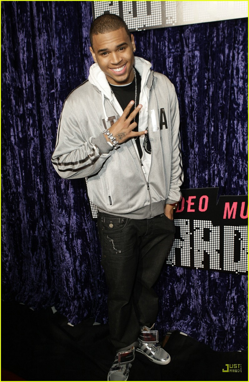 Full Sized Photo of chris brown vmas 2007 08 | Photo ...