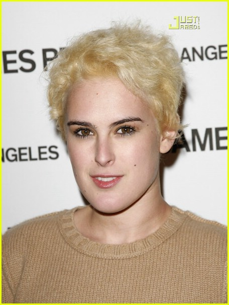 rumer willis poofy blonde hair 02618151