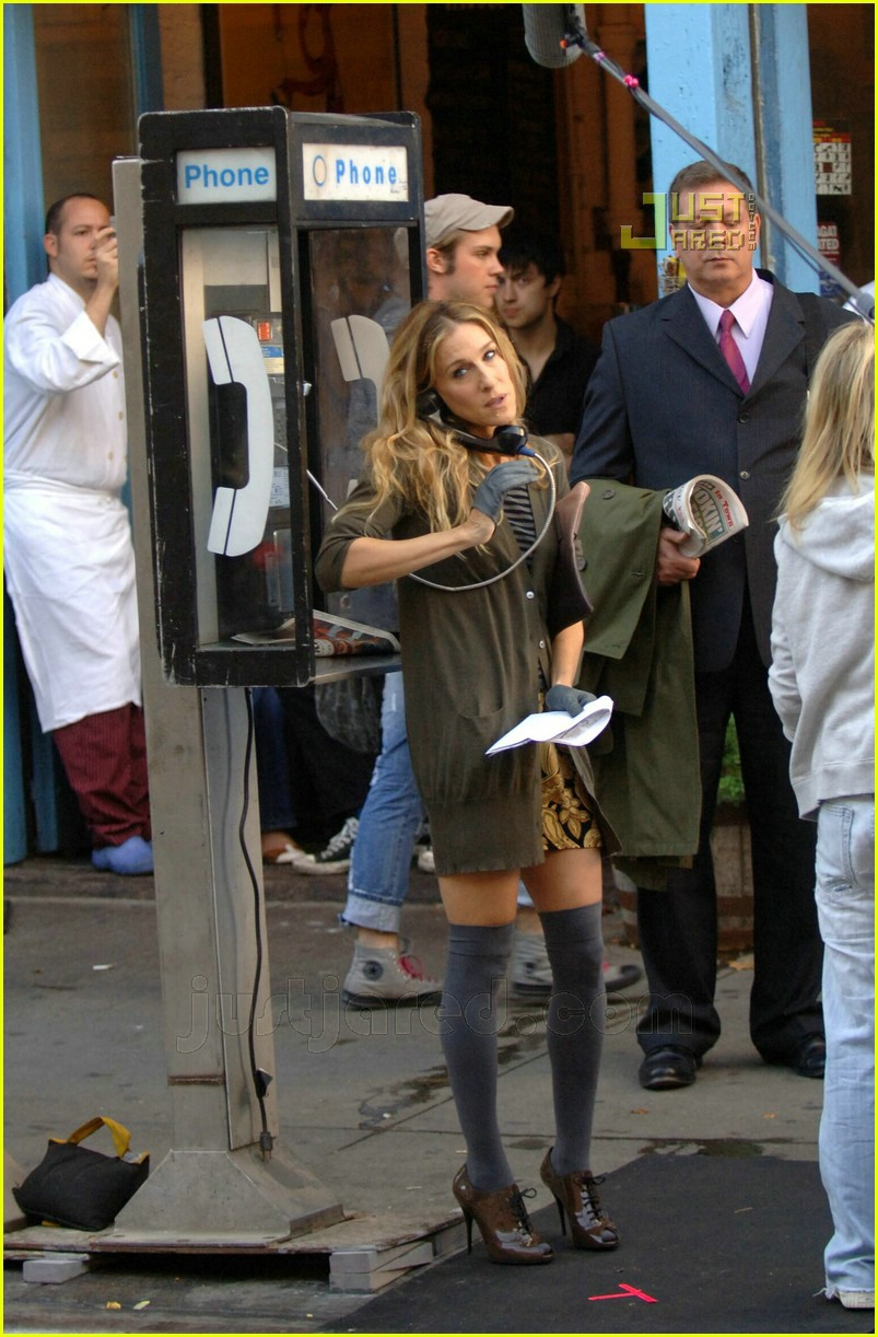 sarah jessica parker knee high socks 03