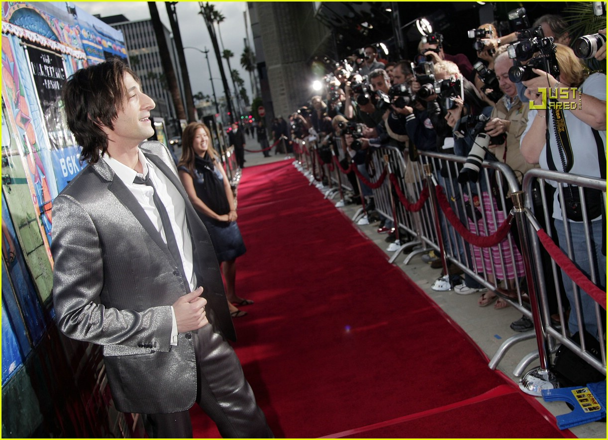Adrien Brody The Experiment Tattoo - Viewing Gallery Adrien Brody Home