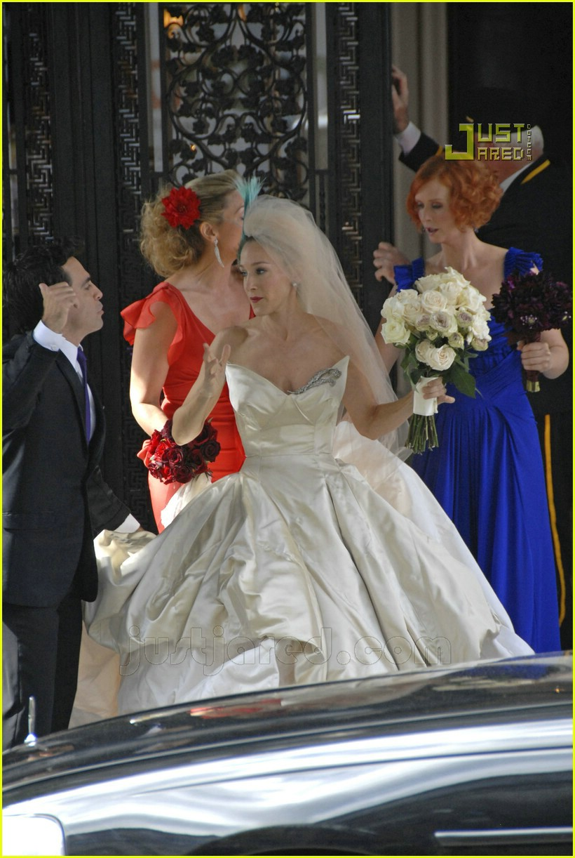 sarah jessica parker wedding dress 08