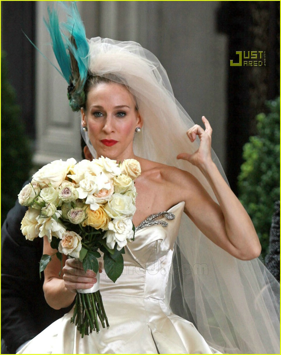 Sarah Jessica Parker Wedding Dress 23627041