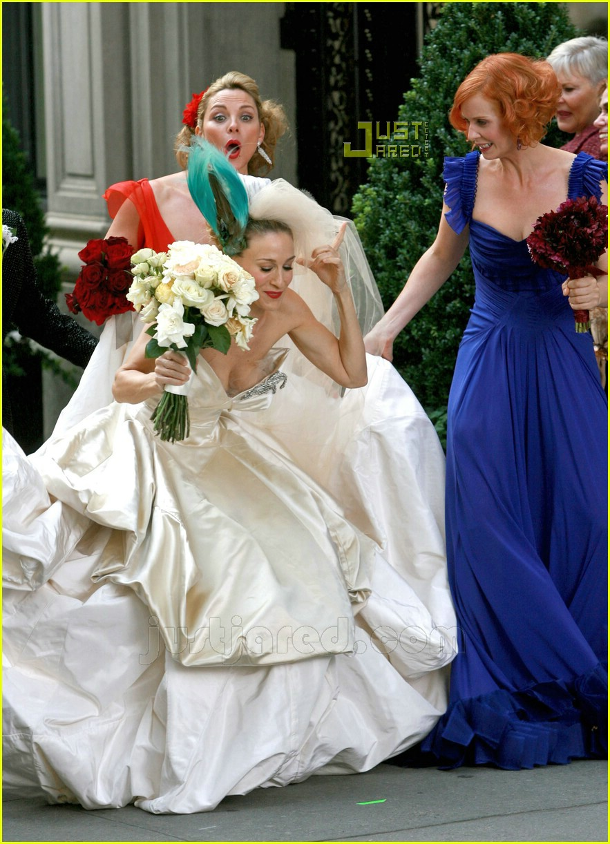 Full Sized Photo Of Sarah Jessica Parker Wedding Dress 26 Photo