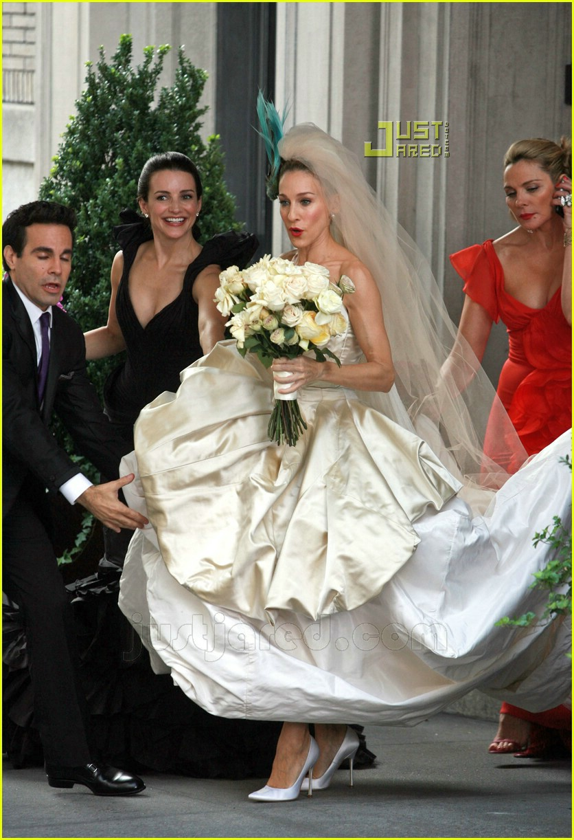 Full Sized Photo Of Sarah Jessica Parker Wedding Dress 27 Photo