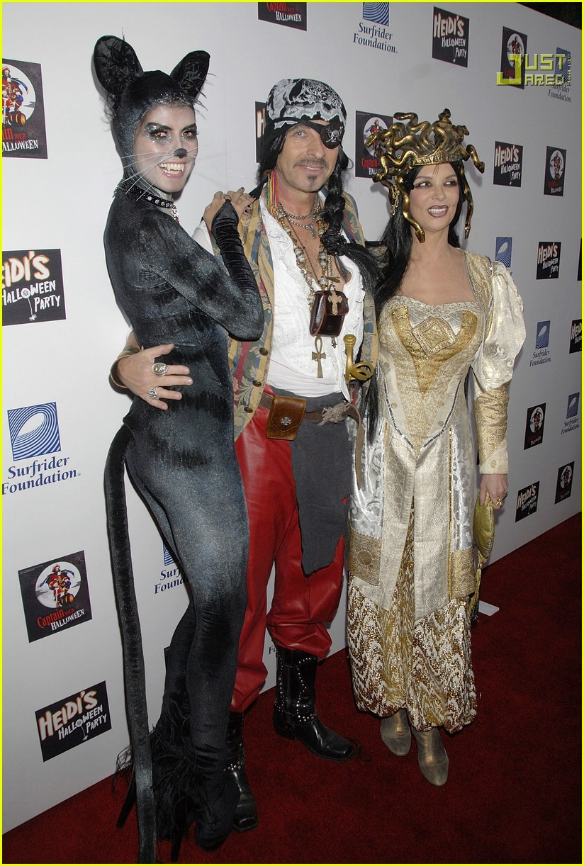 Heidi's Halloween Party 2007: Photo 700521 | Heidi Klum Pictures ...