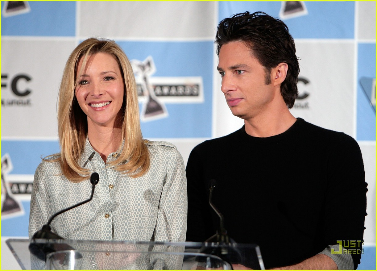 lisa kudrow zach braff spirit awards 01