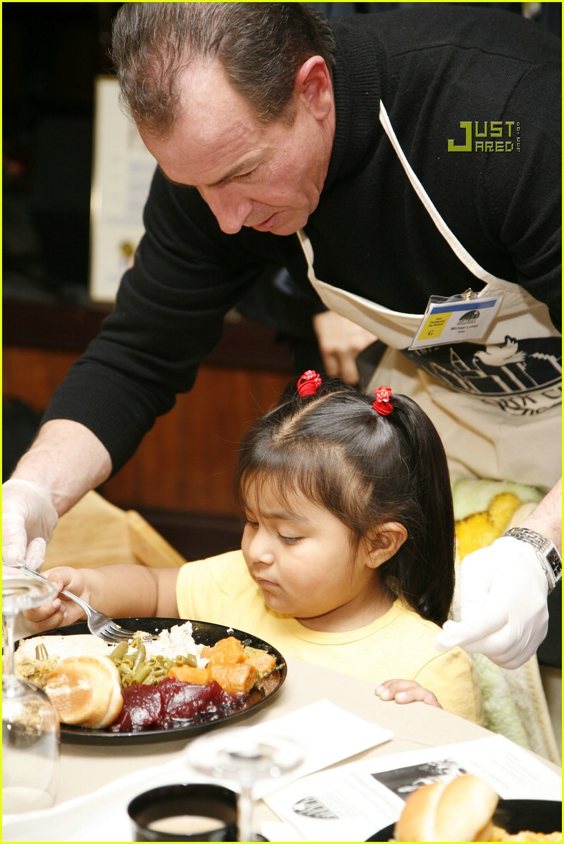 michael lohan thanksgiving dinner 01